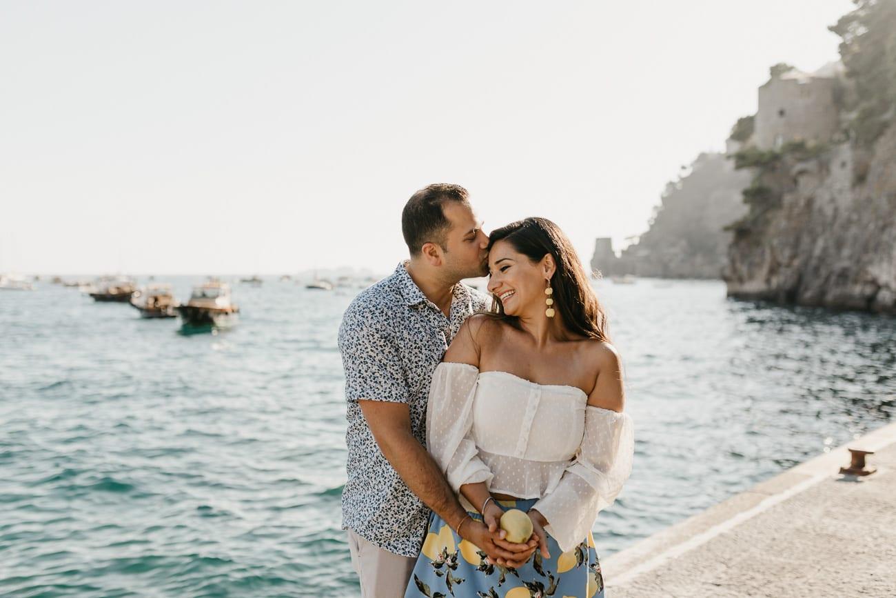 Maternity Photoshooting in Positano